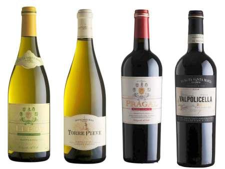 4 wines