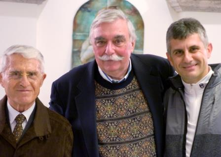 Antonio, Tom, and Piero
