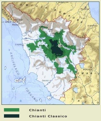 Chianti-Map