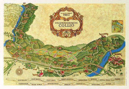 Collio map