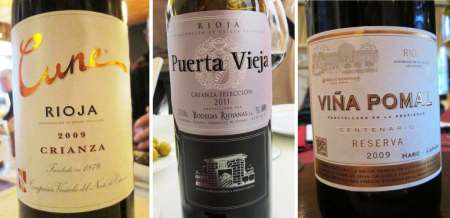 Three Riojas