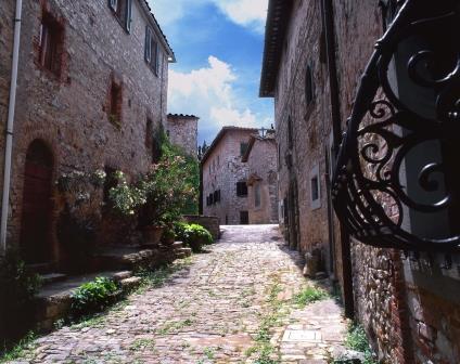 Fonterutoli borgo